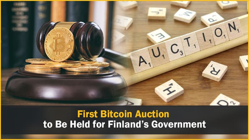 First Bitcoin Auction to Be Held for Finland's Government