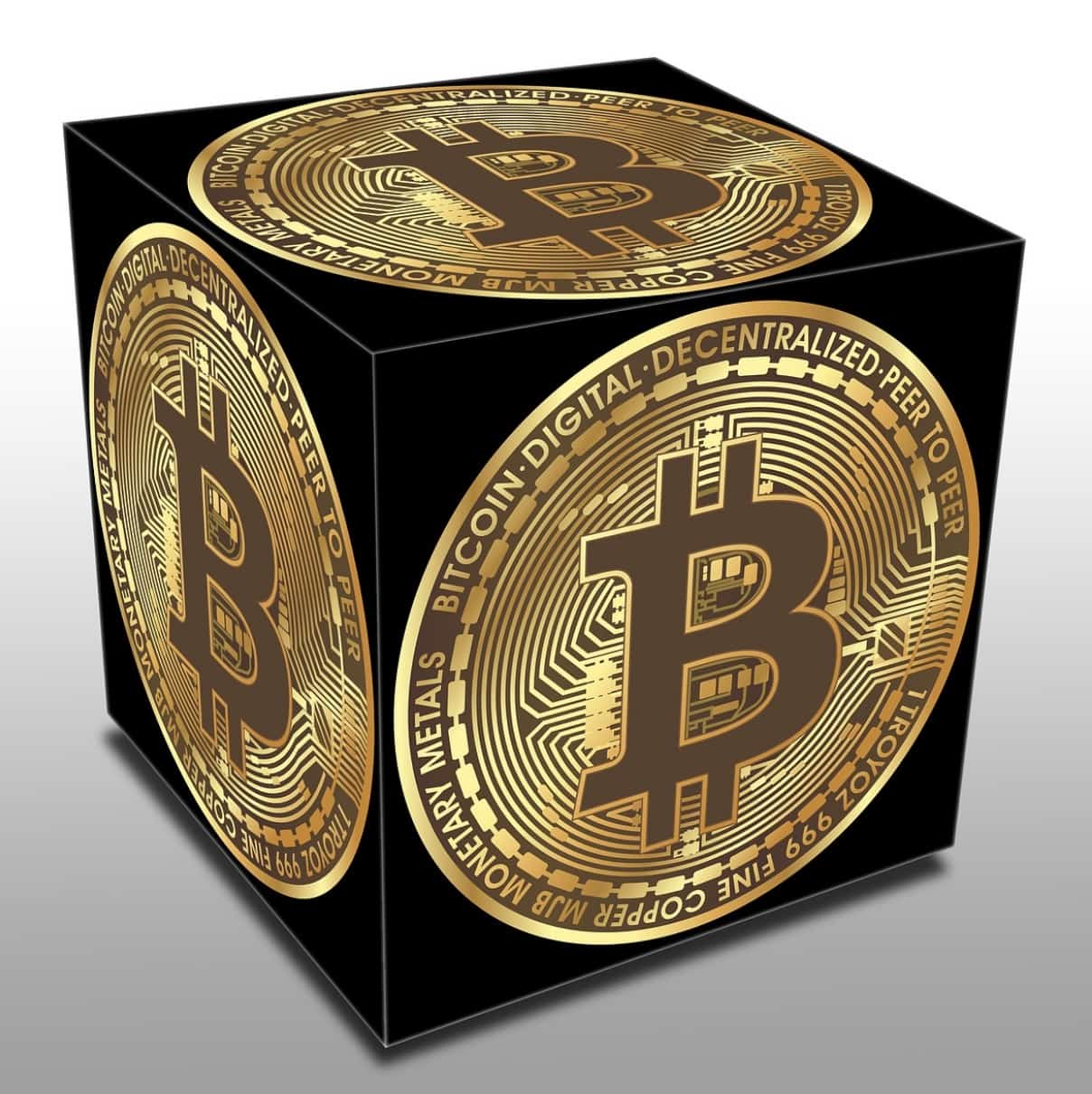 bitcoin four sided black box