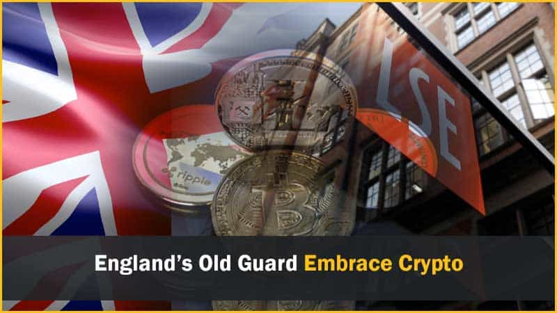 England's Old Guard Embracing Cryptocurrency